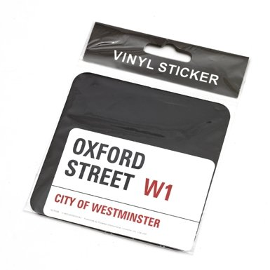 Oxford Street Sticker