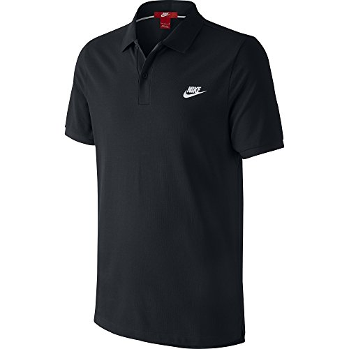 Nike Grand Chelem - Polo da uomo, Uomo, Grand Chelem Slim, nero/bianco, M