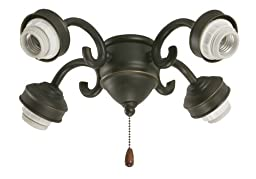 Emerson Ceiling Fans F490ORB 4-Light Transitional Fitter in Oil Rubbed Bronze
