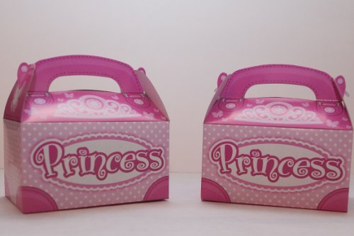 Princess Treat Boxes (pack of 12) - 1