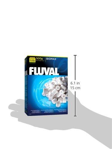 fluval biomax bio rings 500 grams 17 63 ounces fluval filter