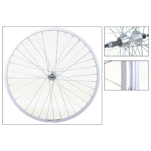 Wheel Master Rear Bicycle Wheel 26 x 1.5 36H, Alloy, Bolt On, Silver