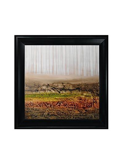 Lisa Carney Rhizome 1 Framed Giclée On Canvas