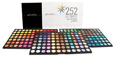Coastal Scents Eye shadow palette