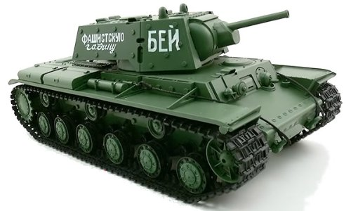 1/16 Russian KV-1's Ehkranami RC Infrared Battle Tank w/ Sound & Smoking effect RC Ready To Run