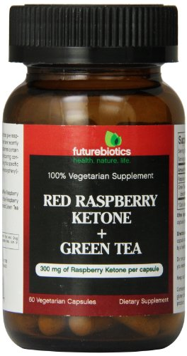 Raspberry Ketone + Green Tea By Futurebiotics 60 Capsules