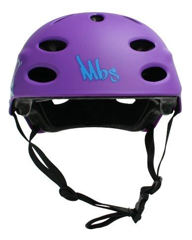 MBS Logos Helmet (Purple, Large/X-Large)
