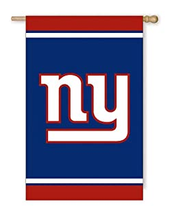 New York Giants Fiber Optic Flag by Evergreen Enterprises