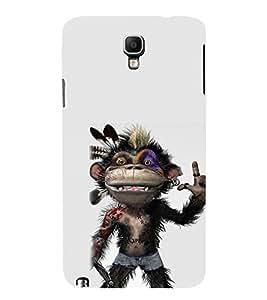 EPICCASE Monkey Rap Mobile Back Case Cover For Samsung Galaxy Note 3 Neo (Designer Case)