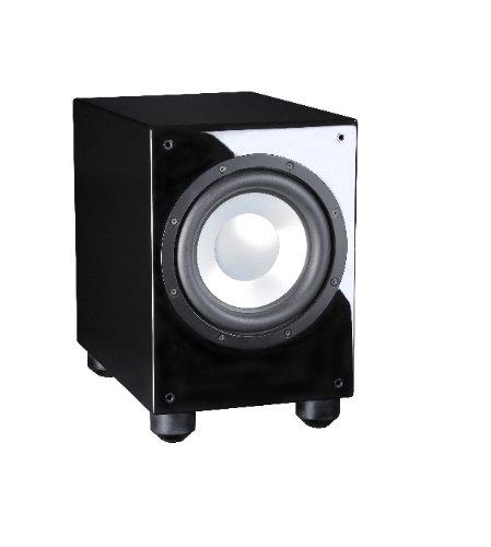 Davis Acoustics Basson 150 Caisson de basse amplifié Boomer 25 cm Ampli 150 W class D Noir Laqué