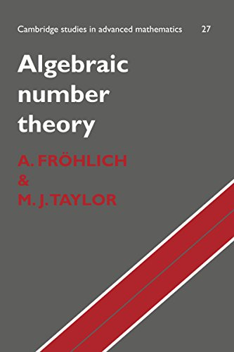 Algebraic Number Theory (Cambridge Studies in Advanced Mathematics) (Algebraic Number Theory Frohlich compare prices)
