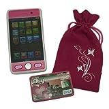 Gueydon Jouets Sas - 800453 - Bijoux de Téléphone Portable - Téléphone Tactile + Sac - modèle aléatoire