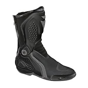 Dainese Torque Race Out Motorcycle Boots Size 11.5 Black