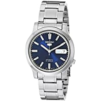 Seiko 5 Stainless Steel Bracelet Automatic Men's Watch (Multiple Colors)