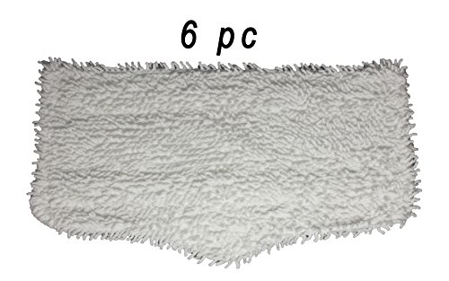 Shark Steam and Spray Mop Cleaning Pads 6 pc, for S3101, S3102, S3250, S3251, SK115, SK140, SK141, SK435CO, SK460 by Ai-Vacuum (Steam Mop S3101 compare prices)