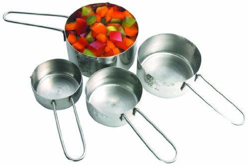 Artisan Stainless Steel 4-Piece Measuring Cup Set