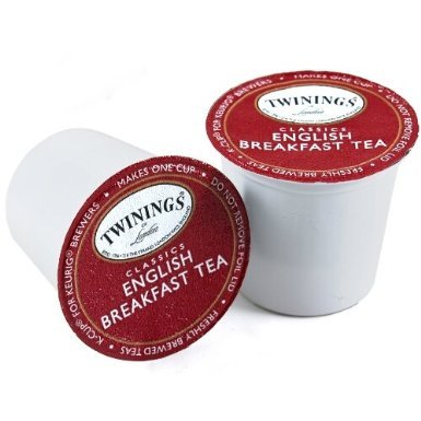 Naturally Decaffeinated English Breakfast Tea-Keuring K-Cup 12Count