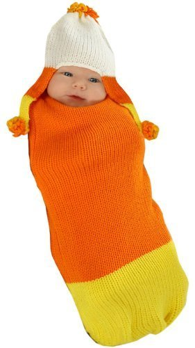 [Camden the Candy Corn Costume - Newborn Small] (Baby Corn Bunting Costumes)
