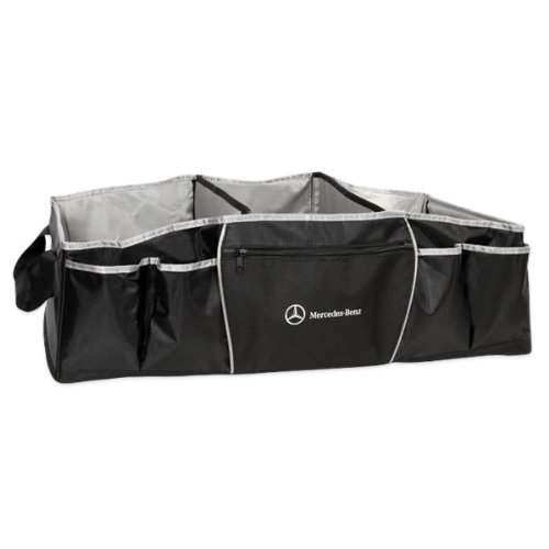 Genuine mercedes benz trunk organizer and cooler pet bed for Mercedes benz car trunk organizer