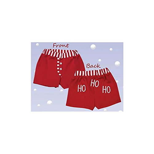 Bearington Baby 6-12 Months Christmas Jolly Infant Diaper Cover