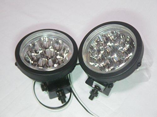 24V 汎用 LED フォグ ライト 路肩 作業灯 (2個セット)