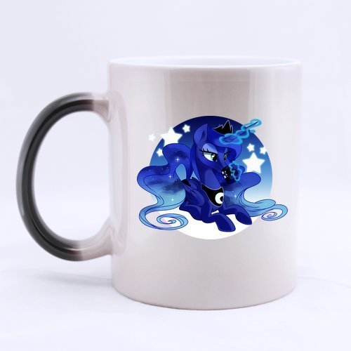 """My Little Pony"" Princess Luna colore cambia-Tazza da caffè, tazza da tè, 28 cl Home tazza, stampata su due lati"