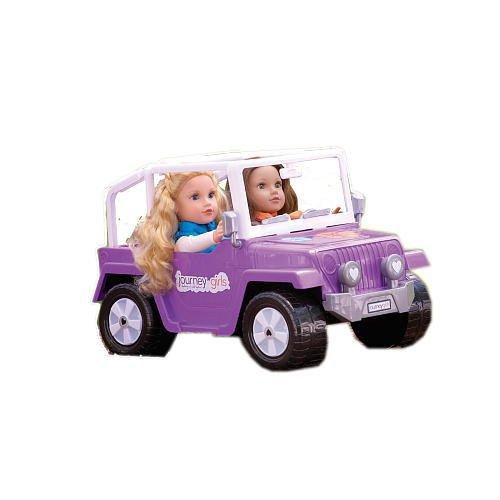 Journey Girls 4x4 Purple Jeep 18 Inch Dolls Reepee93ss
