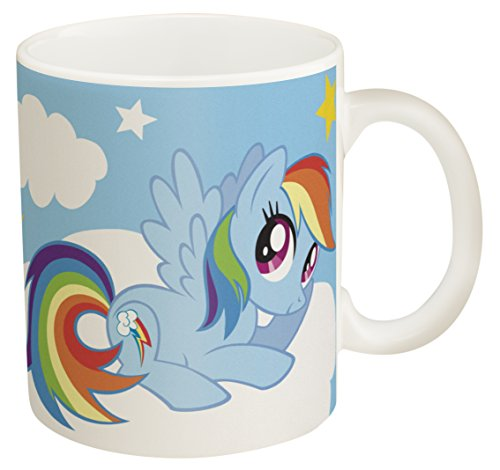 Zak! Designs Ceramic Coffee Mug with My Little Pony Graphics, 11.5 oz. (My Little Pony Coffee Cup compare prices)