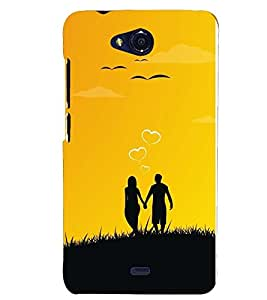 FUSON 3D Designer Back Case Cover foR Micromax Canvas Play Q355 D10040