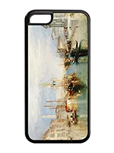 Personalization J.M.W. Turner 2 Art Painting TPU Cases For Iphone 5c Case
