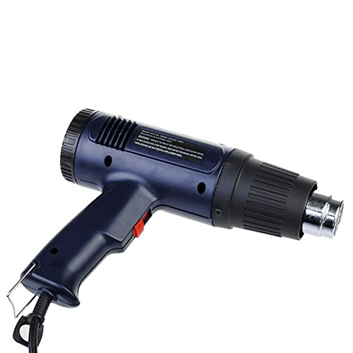 220V Eu Plug Hot Air Gun Electronic Heat 2-Speed Modes Tool 1600W (Gas Operated Dryer compare prices)
