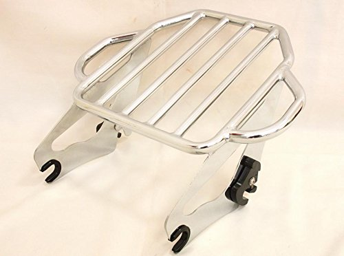 Harley HD Touring Road Glide Custom FLTRX Detachable Two Up Luggage Rack(2009-2014) (2013 Road Glide Custom compare prices)