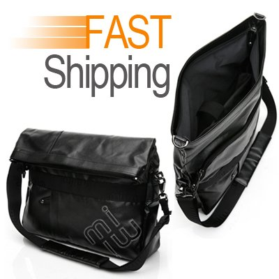 miim 10/11 Inch Petulant Bag (Black) For Tablet PC Computer Shoulder Strap Pourboire Pouch Fast Shipping