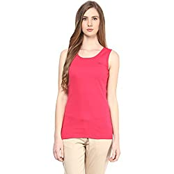 Ajile By Pantaloons Women's Top (205000005541413_Pink_Small)