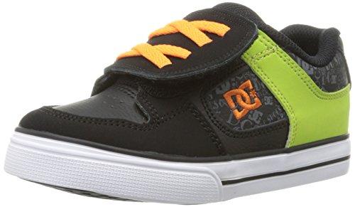 Dc Pure V Sneaker (Toddler/Big Kid),Black/Orange,9 M Us Toddler front-1046834