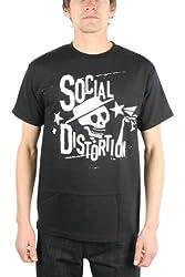 Social Distortion - Distressed Stars T-Shirt