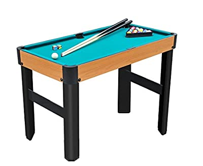 "Playcraft Sport Bank Shot 40"" Pool Table with Standard Legs/Green Cloth"