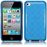 iPod Touch 4 4G 4th Generation Gel Case Cover Funky Blue Design Keep Talking iPod Touch 4 Accessories: Cases, Covers and Skinsby The Keep Talking Shop