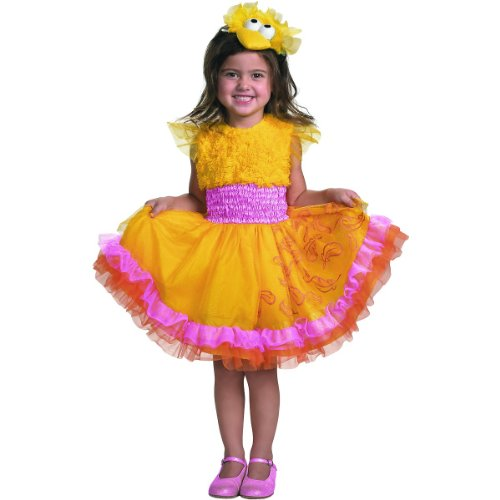 Frilly Big Bird Costume - Toddler Small