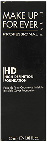 MAKE UP FOR EVER HD Invisible Cover Foundation 110 Pink Porcelain 1.01 oz