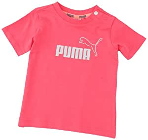 Puma BB ESS T-Shirt fille Paradise Pink FR : 3 mois (Taille Fabricant : 62)