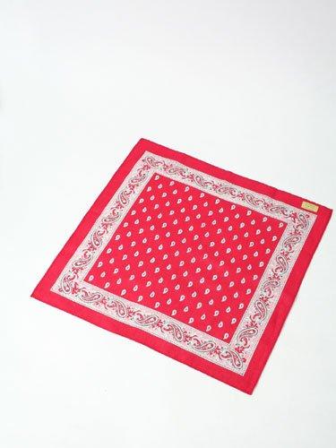 Amazon.co.jp: Blumer【ブリュメル】バンダナ・ハンカチ BANDANA PAISLEY RED(レディース&メンズ・レッド): 服&ファッション小物通販