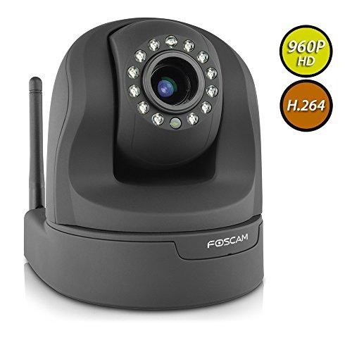 Foscam FI9826W (Black) 1.3 Megapixel...
