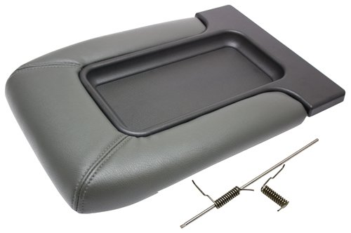 IPCW BB101 Dark Pewter Front Jumper Seat Center Console Lid (04 Gmc Sierra Console compare prices)