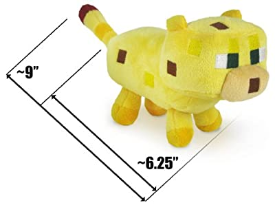 Baby Ocelot 625 Minecraft Overworld Mini-plush Series by Jazwares
