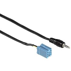 Hama Adaptateur AUX IN Jack 3,5 mm Pour Becker/Blaupunkt/VDO  (Import Allemagne)