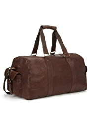 North Coast Luxury Leather Holdall