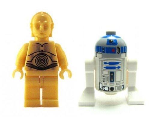 C-3Po & R2-D2 Droids - Star Wars Minifigures