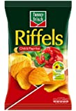 Funny-Frisch Riffels Chili und Paprika, 3er Pack (3 x 150 g)