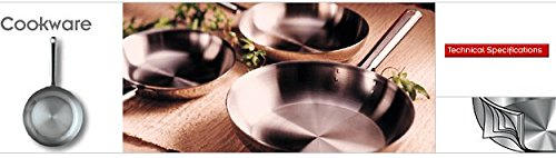 Cooktek Magnawave 14WOKSS 14 Inch Stainless Wok Pan for Wok Units